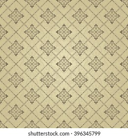 seamless pattern with Moroccan motives