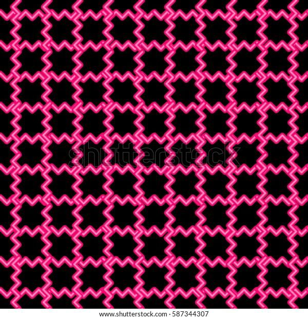 seamless pattern neon