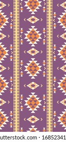 Seamless pattern of north-thai/american design style. geometric pattern repeating  for fabric design printed. Traditional japanese/thai/ameican pattern design.