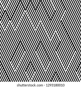 seamless pattern with oblique segments