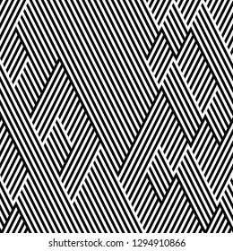 seamless pattern with oblique stripes