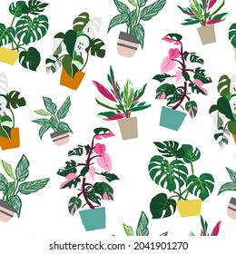 seamless pattern philo set  for background