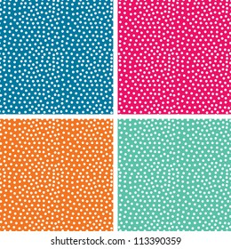 Seamless pattern, polka dot fabric, wallpaper, vector. Seamless pattern can be used for wallpaper, pattern fills, web page background, surface textures.