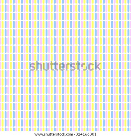Seamless Pattern Repeating Elements Vertical Short Stock Vector