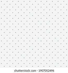 Seamless pattern shallow dot on a Pale smoky white background. The ordered arrangement of a geometric shapes. Vector illustration. Graphic texture for design.