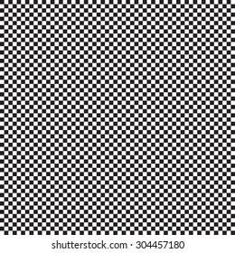 Seamless pattern with small black and white cage for your creativity