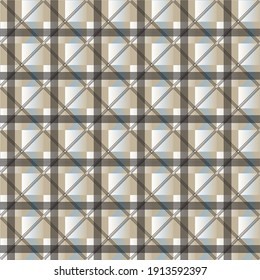 seamless pattern with square and line, glass roof structure