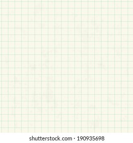 Seamless pattern with squared paper. Vector illustration. Can be used for wallpaper, pattern fills, textile, web page background, surface textures.