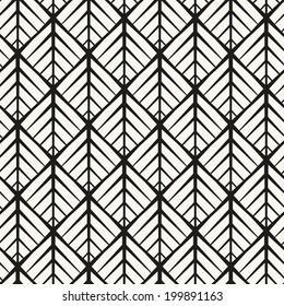 Seamless pattern with squares. Vector abstract background. Stylish cell structure