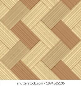 seamless pattern stock vector bamboo handmade background