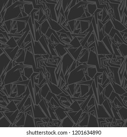 Seamless pattern with stones texture ornament. Abstract modern geometric polygonal background. Vector illustration.
