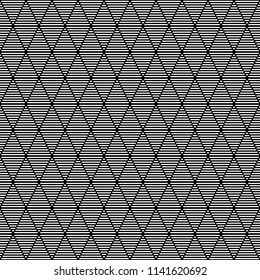 Seamless pattern of striped rhombuses. Geometric background. Vector illustration. Good quality. Good design.