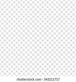 Seamless pattern in the style of the cell Gingham at an angle, in a light gray color.