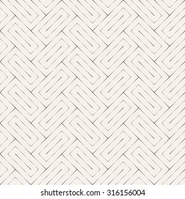 Seamless pattern. Stylish linear abstract background. Simple original texture with repeating geometrical shapes, thin lines, linear rectangles. Vector element of graphic design