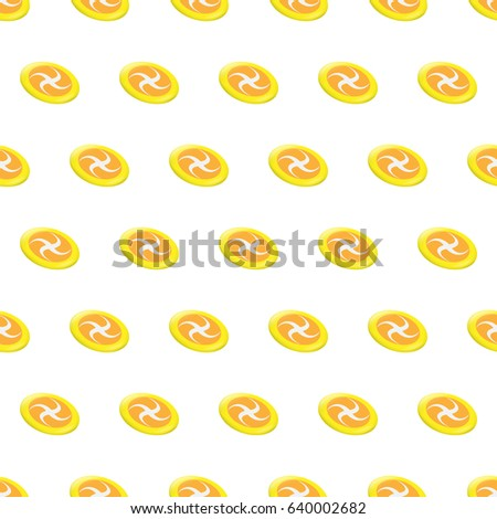 c836968e133af Seamless pattern summer beach frisbee background with template in swatches  for your convenience. Easy to