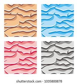 seamless pattern texture of ground