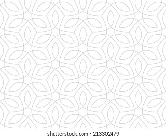 Seamless pattern. Traditional Arabic design.