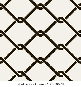 Seamless pattern. Vector texture of grid. Stylish repeating texture. Mesh-netting