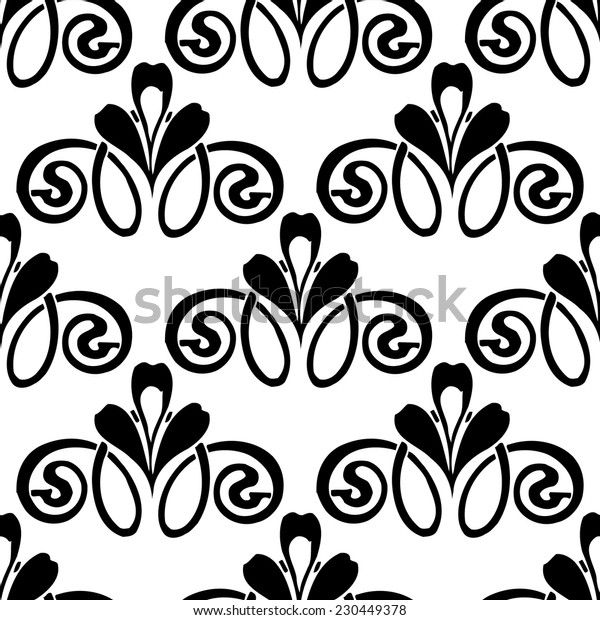Seamless pattern vignette 3
