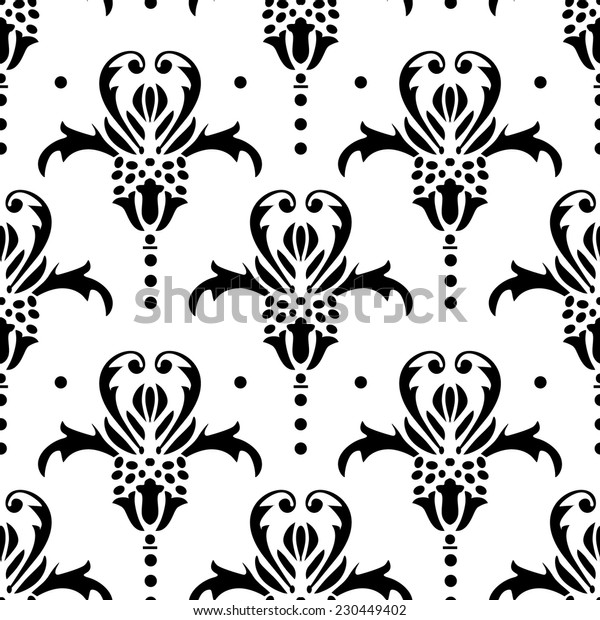 Seamless pattern vignette 7