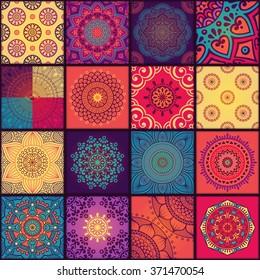 Seamless pattern. Vintage decorative elements. Oriental pattern, vector illustration.  Islam, Arabic, Indian, Turkish, Pakistan, Chinese, Moroccan, Ottoman motifs