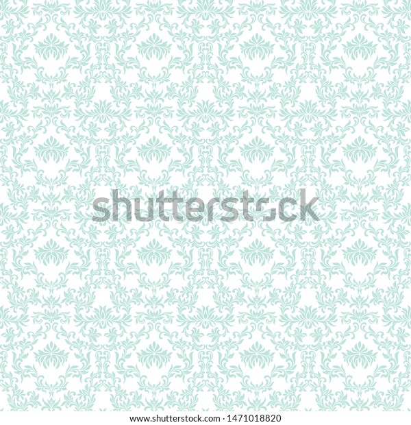 Seamless Pattern Wallpaper Vintage Style Background
