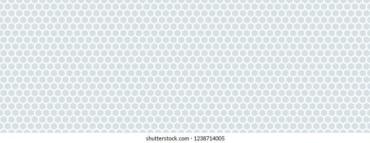 Seamless pattern of the white hexagonal netting