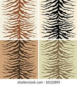Seamless pattern of zebra skin