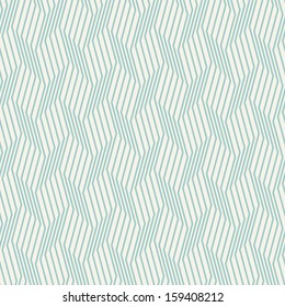 Seamless pattern. Zig zag stripes. Vector graphic texture. Volume effect