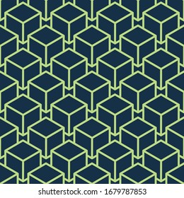 Seamless patterns with abstract ornament