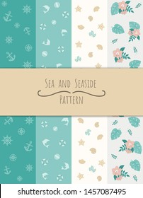Seamless patterns.can be used for wallpaper, pattern fills, web page or background.