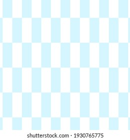Seamless patterns. Checkerboard white seamless pattern. Blue background.