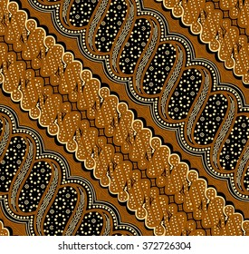 Seamless pattern.Seamless background beautiful batik.