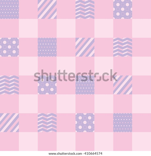 Seamless plaid color pattern