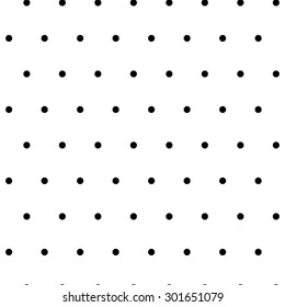 Seamless polka dot pattern with little octagons