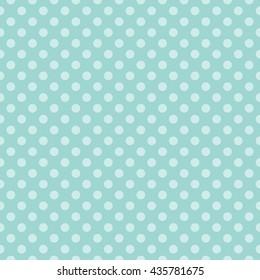 Seamless Polka Dots Pattern Background