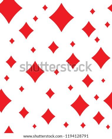 Seamless Red Diamond Tile Pattern On Stock Vector Royalty Free Amazing Diamond Tile Pattern