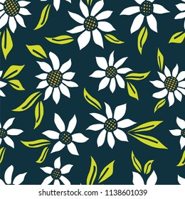 A seamless repeat pattern with an easy country living feel, but modern colorway. Great for fabric, packaging, stationery, wallpaper and any background that require a repeat surface pattern design.