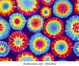 Seamless Repeating Tie Dye Background
