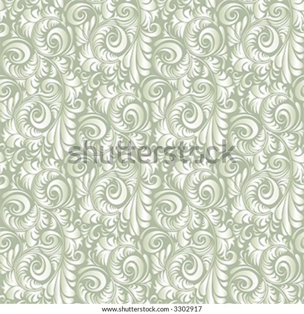 Seamless Repeating Wallpaper Tile Stock Vector Royalty Free