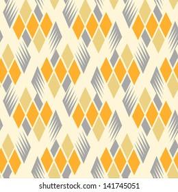 seamless retro diamond pattern 3