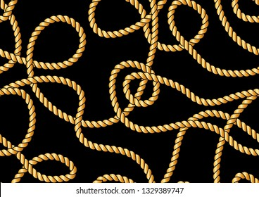 Seamless Rope Pattern for Fashion