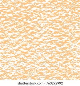 Seamless sandy brown watercolor paper background. Endless fabric pattern. Vector texture.