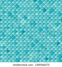 Seamless sea fish scales background. Textured endless pattern.
