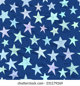Seamless simple pattern with stars for your design. Seamless pattern, wallpaper, pattern, background, textures.