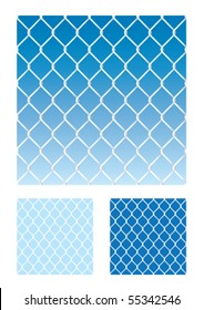 seamless soccer net / wire fence