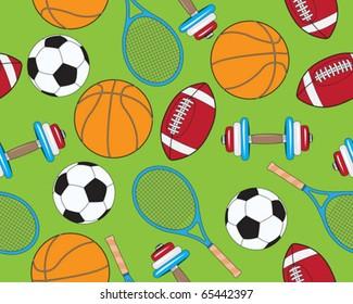Seamless sports elements