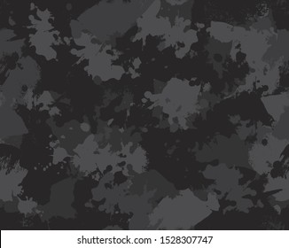seamless stained camouflage repeat pattern