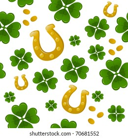 Seamless St.Patrick's day background