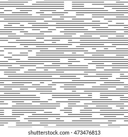 Seamless Stripe and Line Pattern. Vector Black and White Texture. Abstract Minimal Design